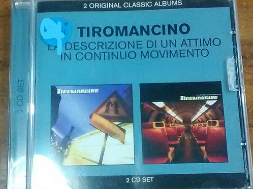 Cd Usado Tiromancino La Descrizione di un Attimo in Continuo Movimento