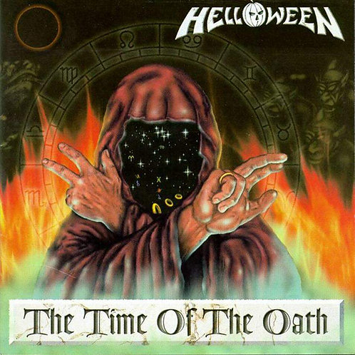 Cd Helloween The Time of the Oath Duplo Importado Argentino
