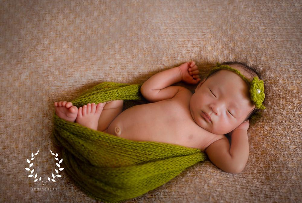 start of newborn photography