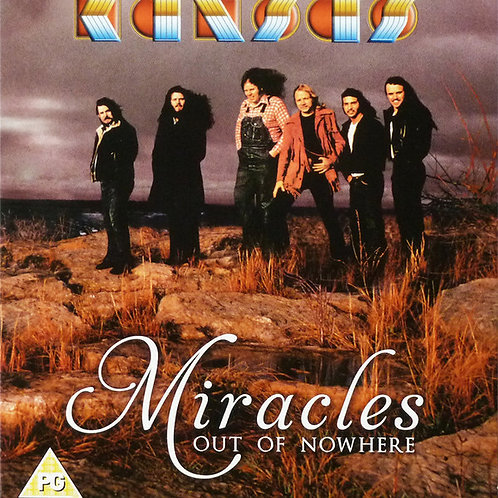Cd Kansas Miracles Out of Nowhere Duplo