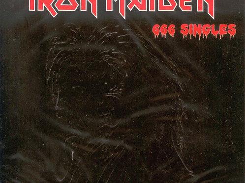Cd Iron Maiden 666 Singles