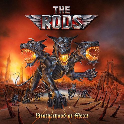 Cd The Rods Brotherhood Of Metal Digipack Novo Lacrado