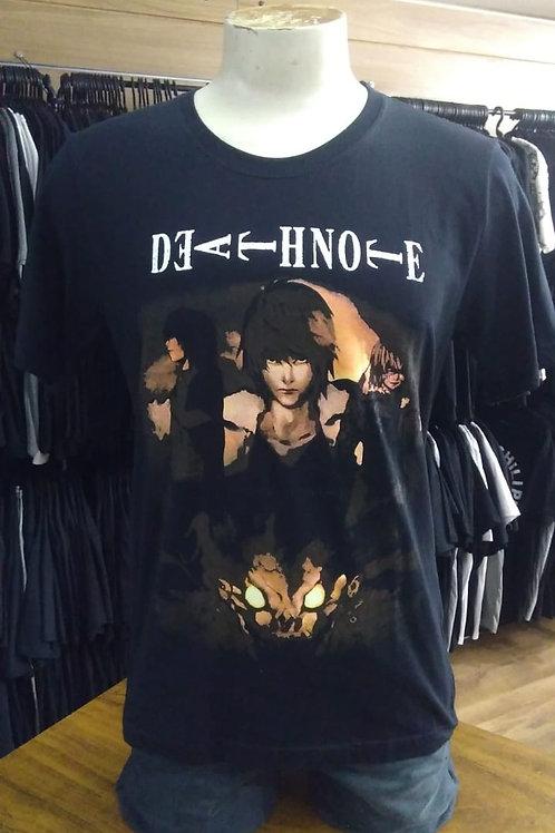 Camiseta Death Note Power Rock MBB10