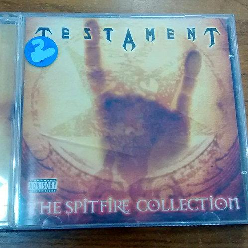 Cd Usado Testament The Spitfire Collection