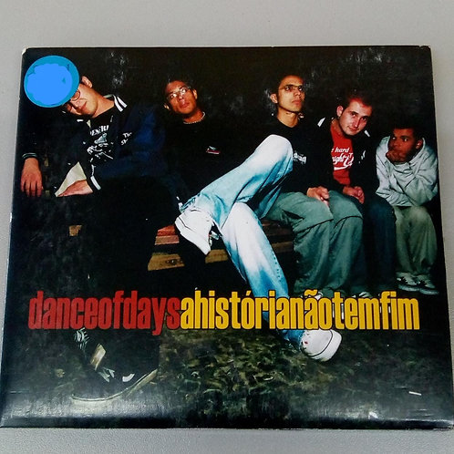 Cd Usado Dance Of Days A História Não Tem Fim Digipack