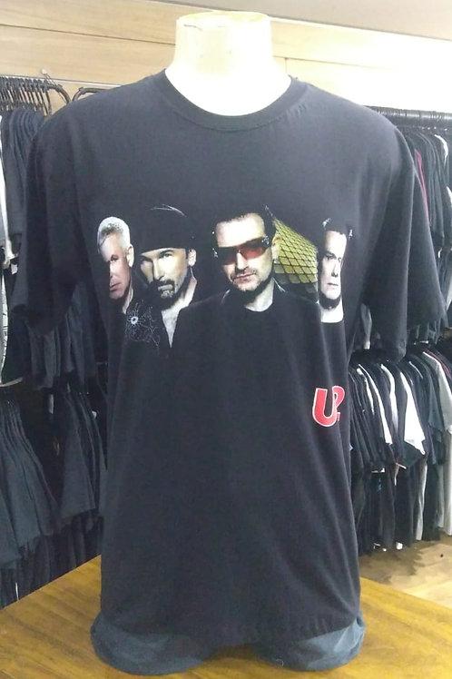 Camiseta U2 Power Rock Pw01u