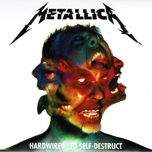 Cd Metallica Hardwired To Self Destruct Duplo