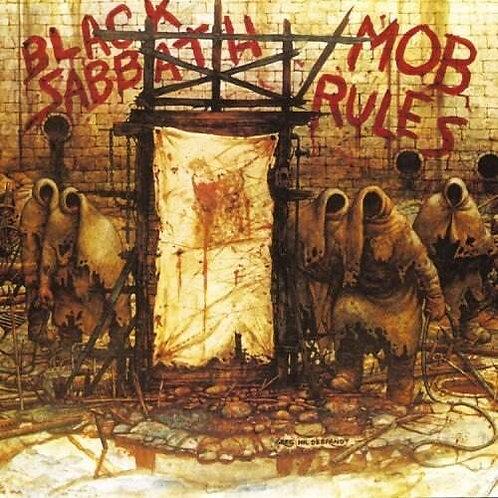 Cd Black Sabbath Mob Rules Slipcase