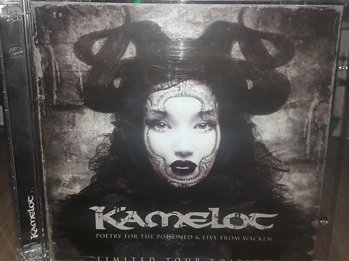 Cd Kamelot Poetry For The Poisoned And Live From Wacken