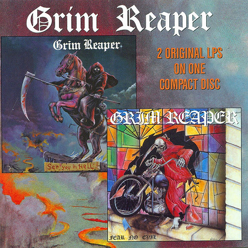 Cd Grim Reaper See You In Hell fear No Evil