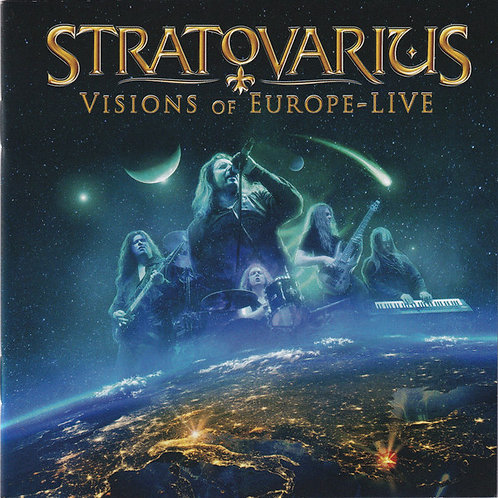 Cd Stratovarius Visions Of Europe Live