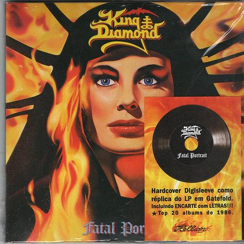 Cd King Diamond Fatal Portrait Digisleeve