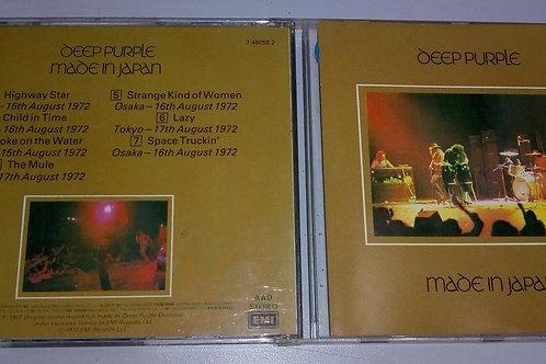Cd Usado Deep Purple Made In Japan