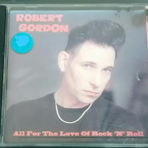 Cd Usado Robert Gordon All For the Love