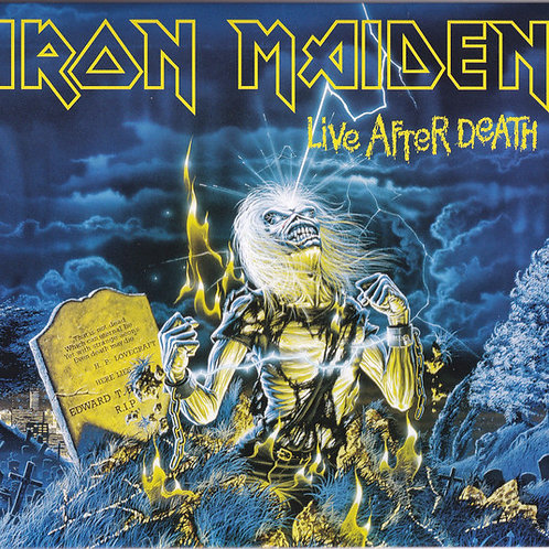 Cd Iron Maiden Live After Death Duplo Digipack