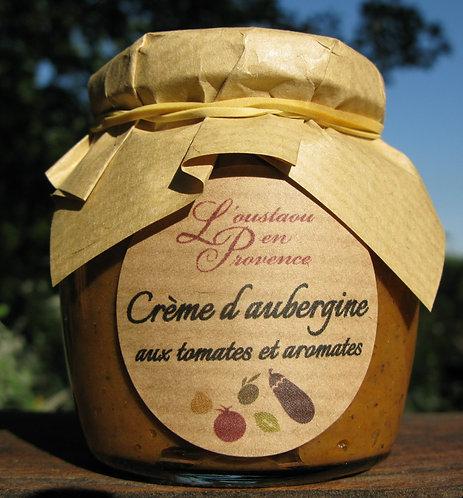 Crème d'aubergine aux tomates et aromates 95g