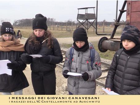 """I """"nostri"""" ragazzi sul binario di Auschwitz-Birkenau"""