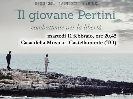 """""""Il giovane Pertini"""" in prima visione per il Piemonte"""