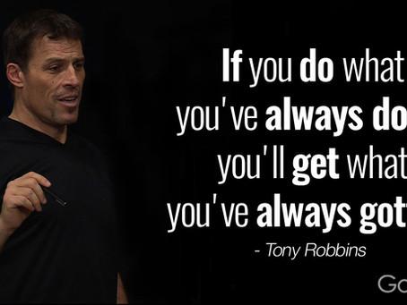 כמה דברים שלמדתי מטוני רובינס
