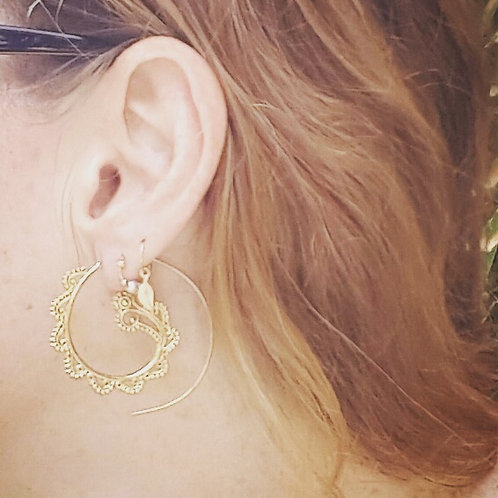 Indian gold Earings