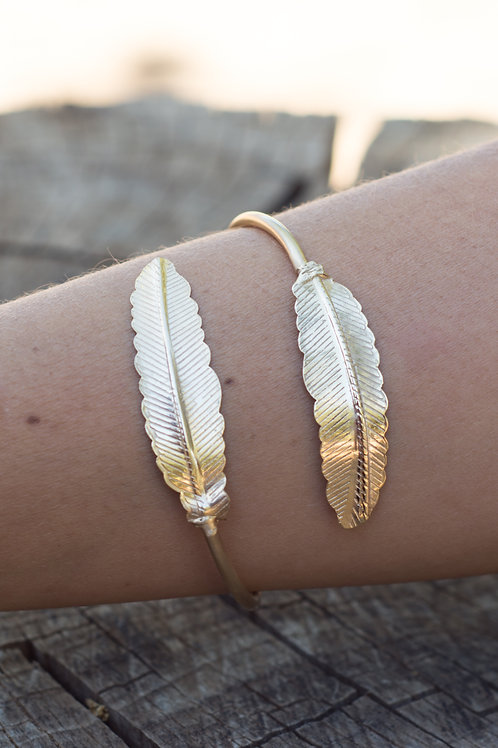 Indian golden leaves Braclet