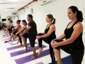 Vinyasa Class, Netanya, Israel