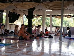Vinyasa Class, Goa, India