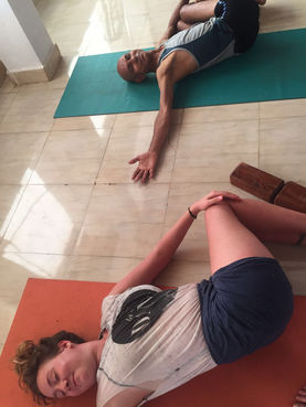 Yin Yoga, Goa, India