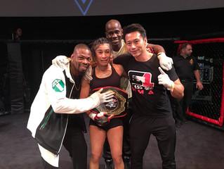 Gabriela Gulfin wins the ACC Strawweight MMA Title