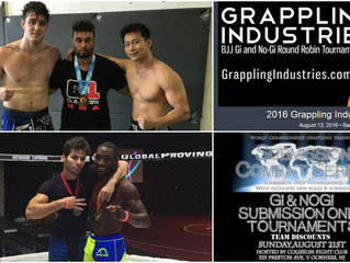 Other August Grappling Tournaments
