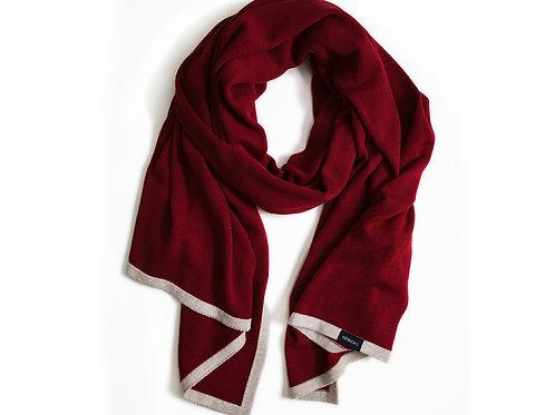 Großer Schal Rot