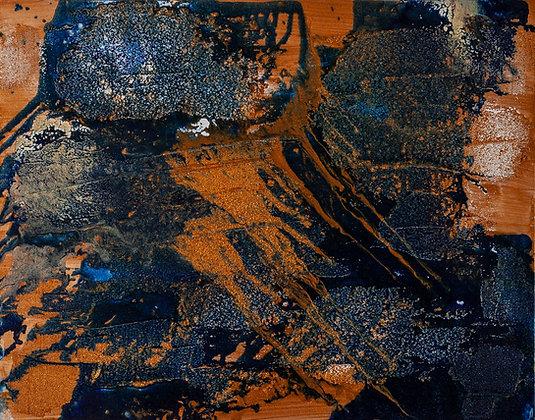 Rosa Mund - Crystals 22 x 28 in