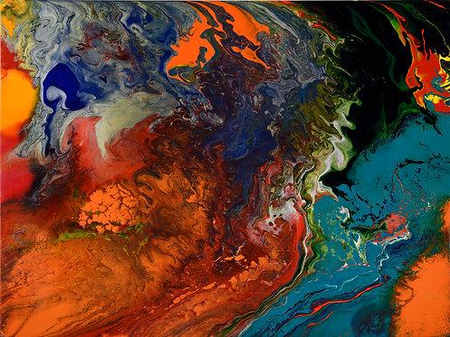 Etna - Weather 36x48