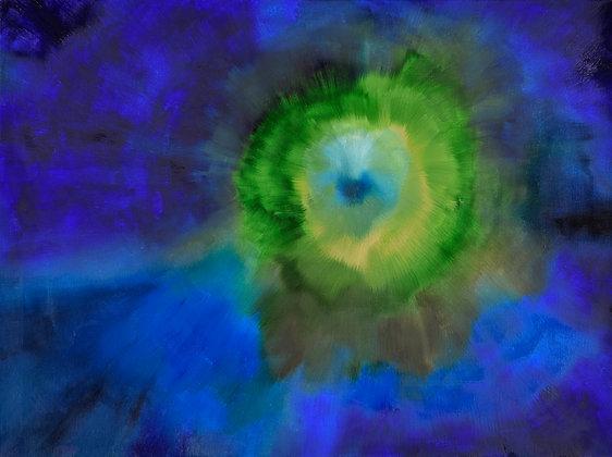 Black Hole - Genesis 18 x 24 in