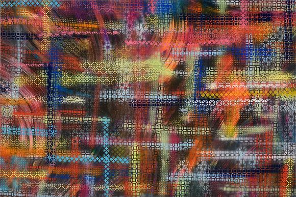 Sirrah - Grid 32 x 48 in