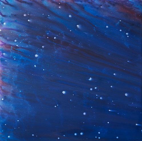 Stary Night - Meteor Shower 48x48