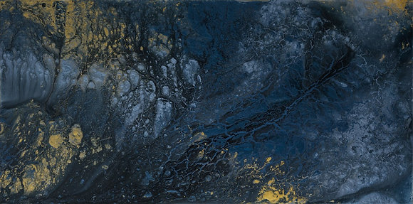Blue Crush - Stratosphere 24 x 48 in