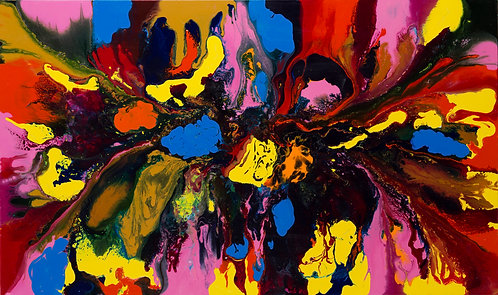 Psychedelic - Colorblast 36x60