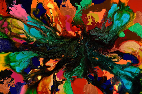Law of Attraction - Colorblast 48 x 72 in