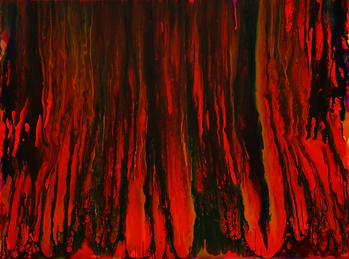 Red Forest - Genesis 36x48