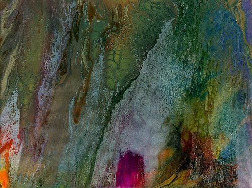 Arkah - Weather 36 x 48 in
