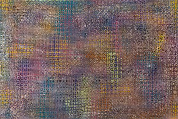 The Matrix - Grid 24 x 36 in Framed 27 x 39 in
