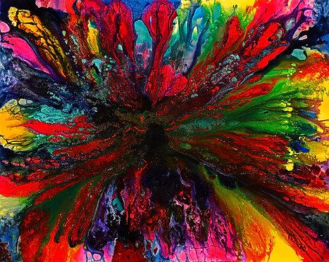 Explosion - Colorblast 48x60