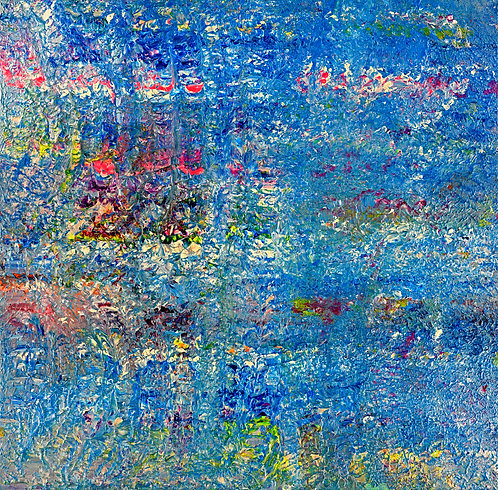Monet - Mondays 48 x 48 in