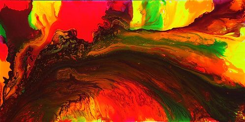 Chasma - Stratosphere 24 x 48 in