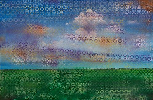 Landscape - Grid 24 x 36 in