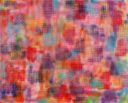 Ode to Joy - Grid 48 x 60 in