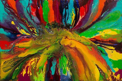 Tunes - Colorblast 48 x 72 in