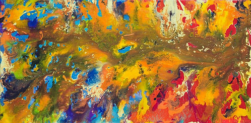 Fountain of Youth - Stratosphere 24 x 48 in