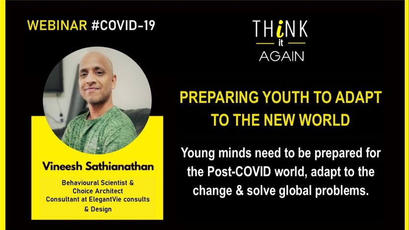 Preparing Youth To Adapt to the New World